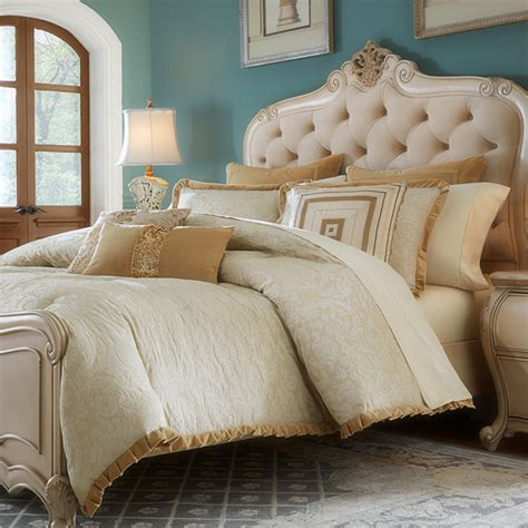 carlton luxury bedding set a michael amini bedding