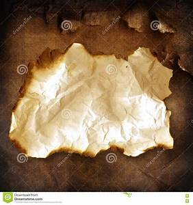 Old Burnt Paper Stock Image - Image: 15301591
