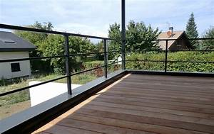 idees garde corps terrasse With idee garde corps terrasse
