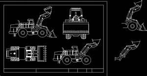Front Loader Dwg Block For Autocad  U2022 Designs Cad