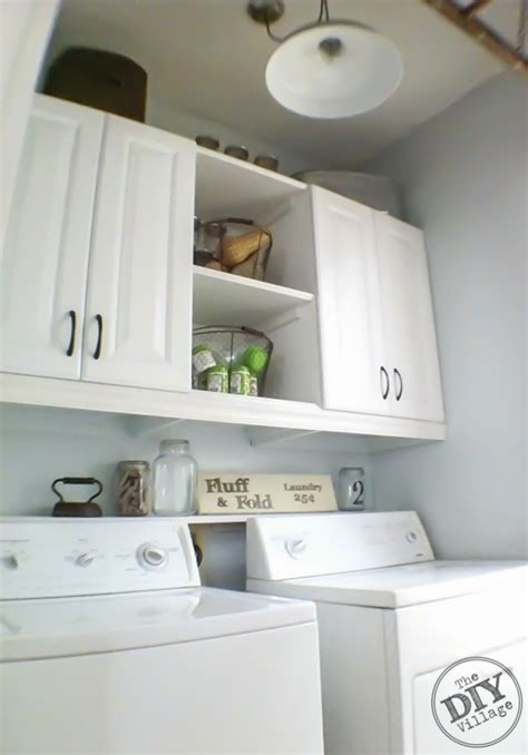 Laundry Room Makeover The Diy Village