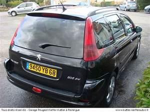 206 D Occasion : peugeot 206 sw xs premium 2l hdi 2003 occasion auto peugeot 206 ~ Maxctalentgroup.com Avis de Voitures
