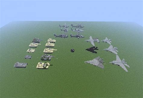 minecraft army jeep military vehicles minecraft project