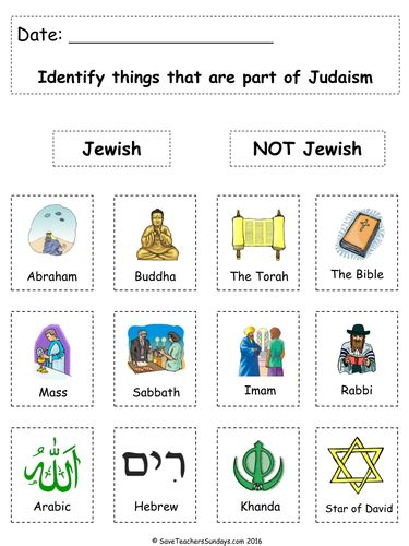 ks1 judaism lesson plan powerpoint and worksheets by