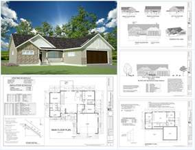 how to design a house plan h233 1367 sq ft custom spec house plans in both pdf and dwg file sds plans