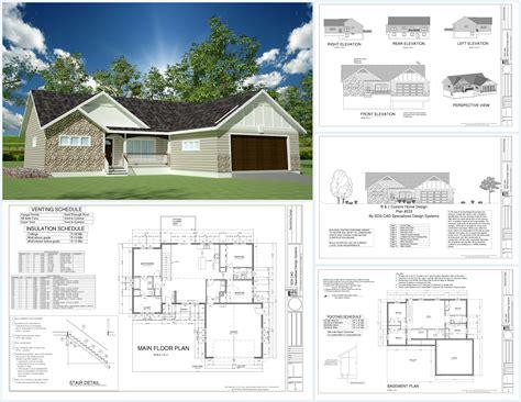 sq ft custom spec house plans