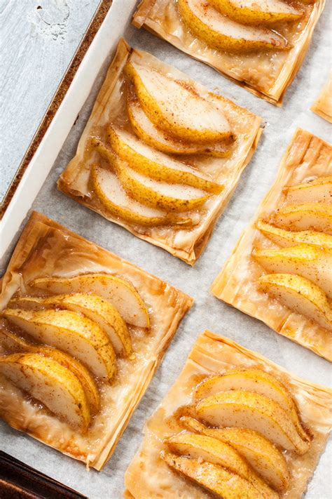 Sheets need to be thawed in the refrigerator overnight. Pear & Honey Phyllo Tarts