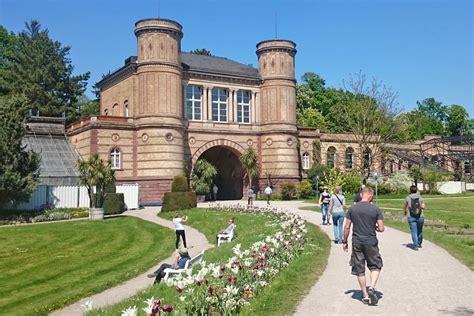 Radkarlsruhe  Wegpunkte  Botanischer Gartenorangerie