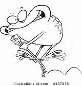 Stick Pogo Clipart Illustration Toonaday 1662 Leap Toad Royalty Outline Cartoon Leishman Ron Illustrationsof sketch template