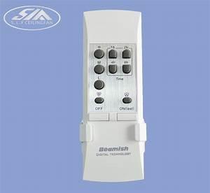 Wireless remote control switch ceiling fan light