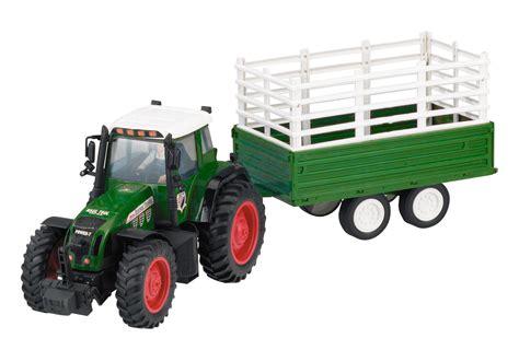 traktor mit anhänger spielzeugtraktor traktor trecker mit anh 228 nger bauernhof