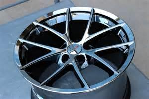 c6 corvette change black chrome corvette spyder wheels for c6 z06 grand sport