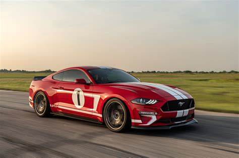 ford mustang hennessey heritage edition top speed