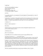 appeal letter sample manifest oversight