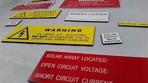 Electrical Labels And Signs
