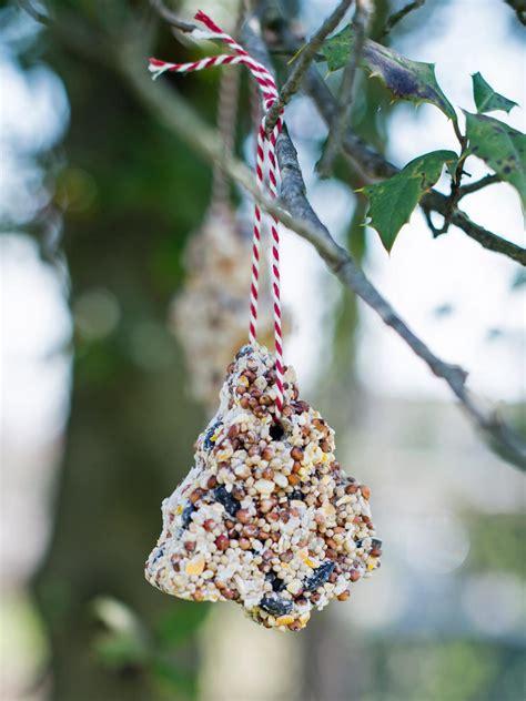 Kids' Craft Bird Seed Christmas Ornaments Hgtv