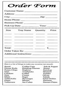 cake ball order form templates free bakery order form With pizza order form template