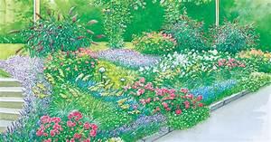 Garten Hügel Bepflanzen : gestaltungsideen f r hangbeete mein sch ner garten ~ Indierocktalk.com Haus und Dekorationen