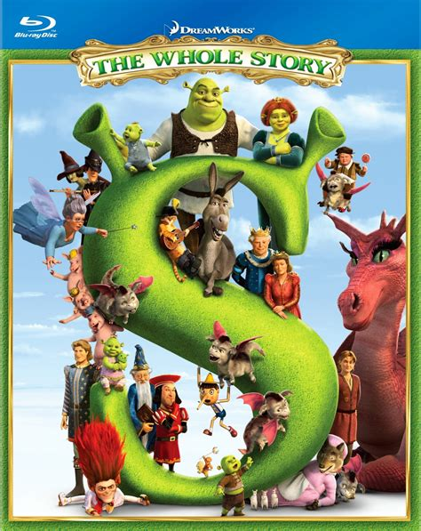 Shrek The Whole Story Blu Ray Box Set Event And