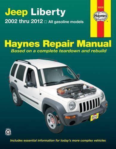 car repair manuals download 2008 jeep liberty instrument cluster 2002 2012 jeep liberty repair manual 03 04 05 2006 2007 2008 2009 2010 2011 1022 1620921022 ebay