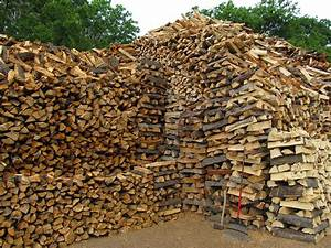 Giant Wood Pile With Rake And Ax Photograph by Donna Wilson