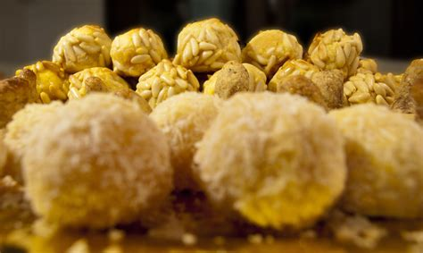 panellets catalan almond sweets   saints day