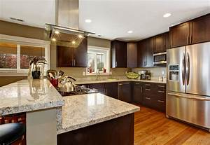 kitchen design tips for dark kitchen cabinets With kitchen colors with white cabinets with stock market wall art
