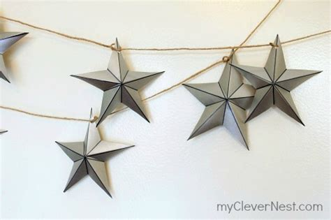 easy diy christmas star decorations shelterness