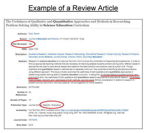 evaluating journal articles education research  graduate students libguides  valdosta