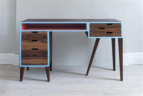 mid century desk l hand made mid century modern desk by kevin michael burns
