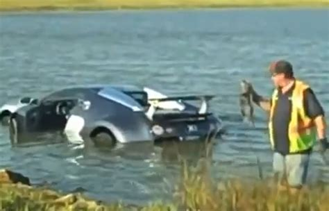 Bugatti Into Lake who crashed bugatti veyron into a lake pleads guilty