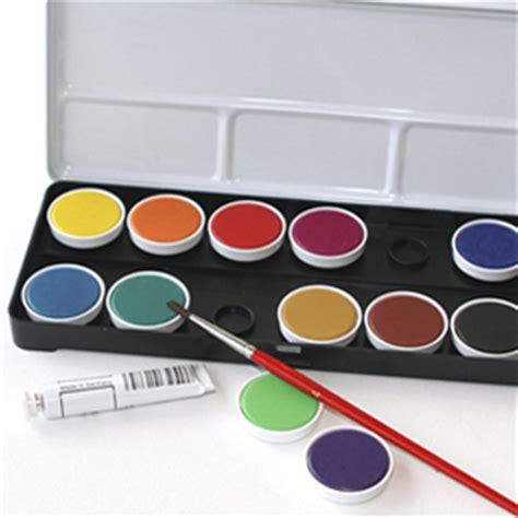 water color set watercolor opaque set in paints markers