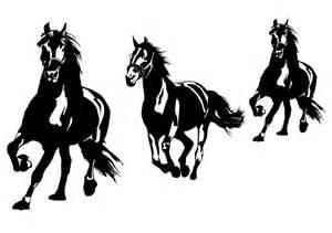 Wall Decals Running Horses   WALLTAT.com