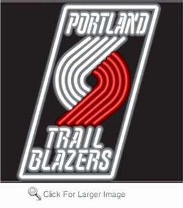 Portland Trail Blazers Neon Sign only $299 99 Neon NBA Signs