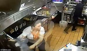 Security video shows Burger King employees scramble for ...