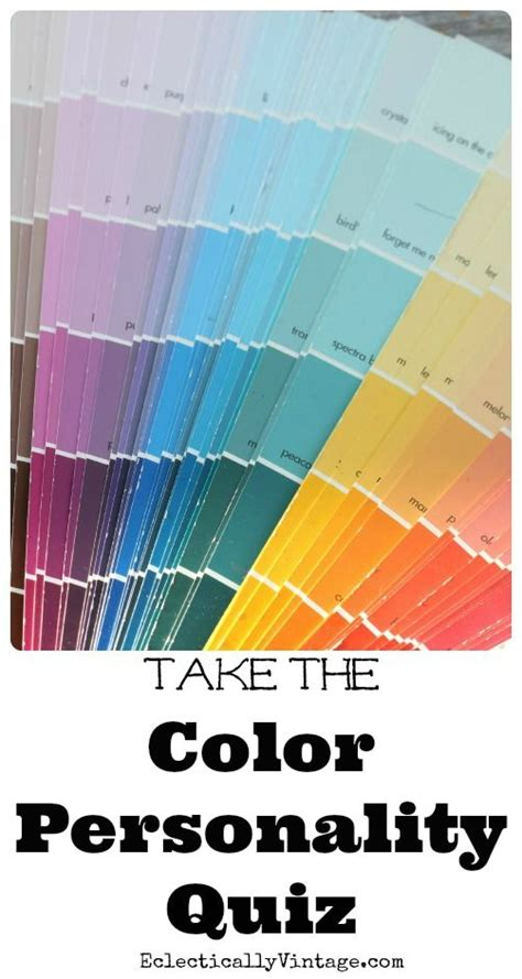 color quizzes take the color personality quiz home projects we