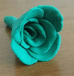 How To Make A Clay Rose  With Pictures