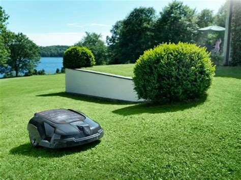 Husqvarna Automower Solar Hybrid 1421 by Worx Landroid Robotic Lawn Mower Cool Stuff Dude