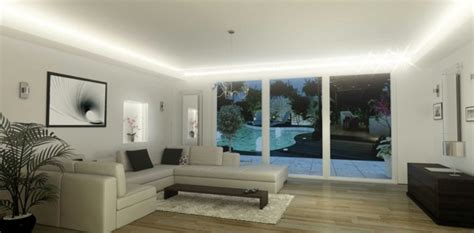 eclairage led interieur plafond r 233 sultat de recherche d images pour quot eclairage salon plafond quot home light