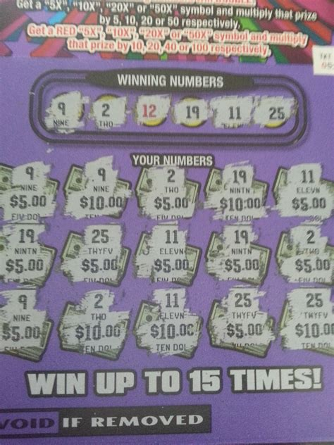 Winning Scratch-Off Tickets