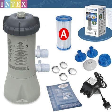 filtre pour piscine epurateur a cartouche 2 0 m3 h c2 0 intex pas cher en vente sur stock