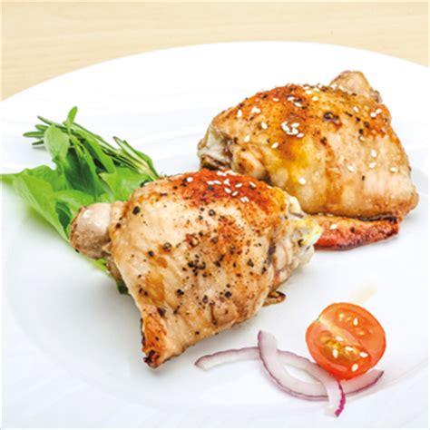 cuisiner haut de cuisse de poulet hauts de cuisse de poulet grillés marinés à la dijonnaise metro