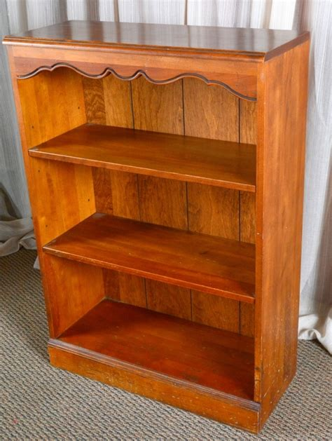 ethan allen bookcases used ethan allen 2 shelf bookcase