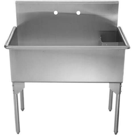 Stainless Steel Utility Sinks Free Standing by Whitehaus Pearlhaus Free Standing Utility Sinks With Drain