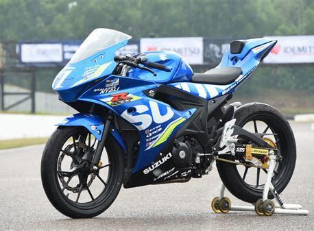 Modification Suzuki Gsx R150 by Suzuki Racing