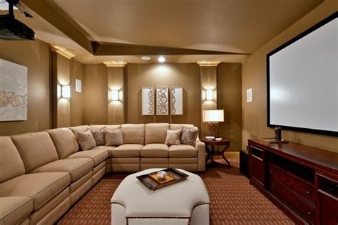 Glamorous Media Room In Dallas, Tx-traditional-home