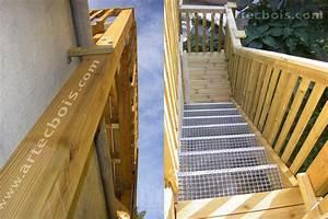 Hauteur Marche Escalier Extérieur : limon escalier bois exterieur escalier ext rieur scadametal escalier ext rieur escaliers d ~ Farleysfitness.com Idées de Décoration