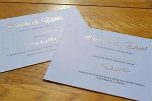 wedding invitations printed in gold foil black litho With wedding invitations with foil print