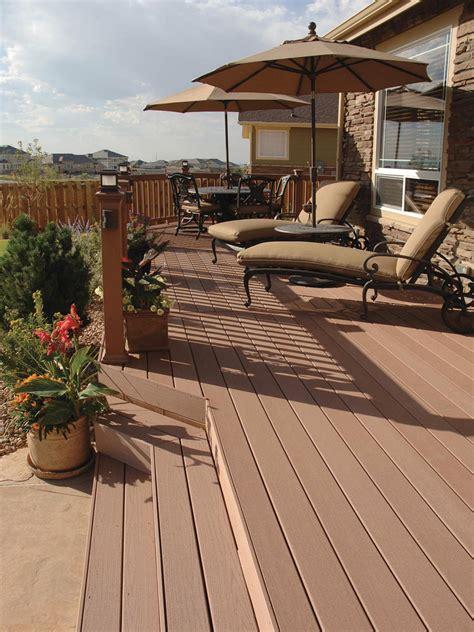 decks raised  grade level hgtv
