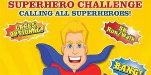Superhero, Challenge, 5k, Walk, Run, 2017